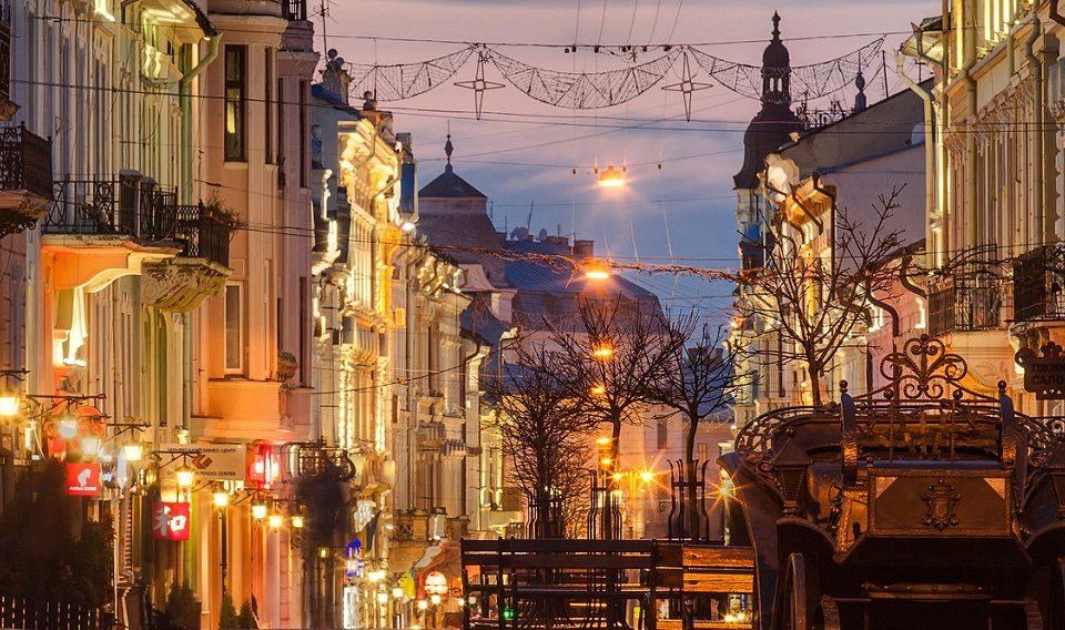 Chernivtsi Kobylanska Street